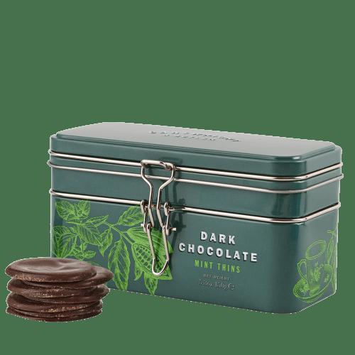 Dark Chocolate Mint Thins