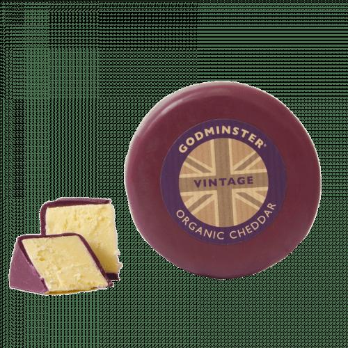 Godminster Vintage Organic Cheddar Cheese 200g