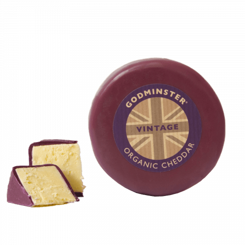 Godminster Round Vintage Organic Cheddar