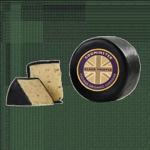 Godminster Black Truffle Vintage Organic Cheddar Cheese 200g