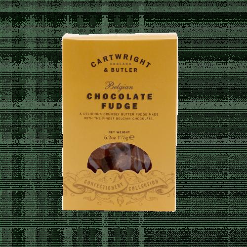 Belgian Chocolate Fudge carton