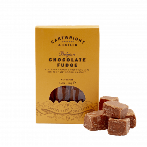 Belgian Chocolate Fudge in Carton