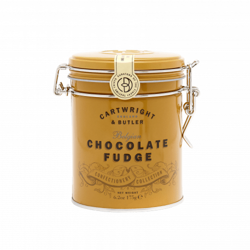 Belgian Chocolate Fudge in Tin