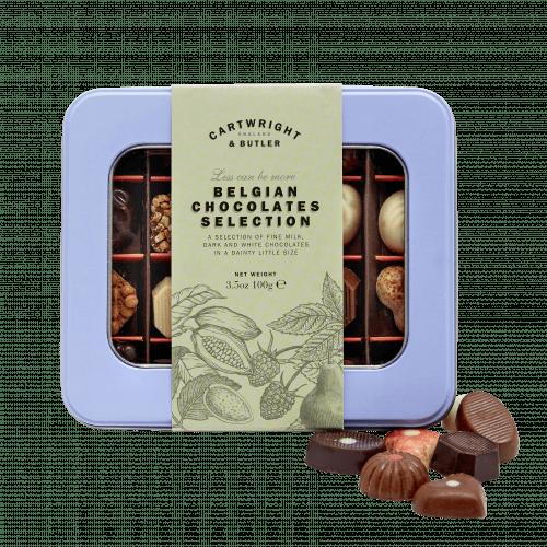 Belgian Chocolates Selection in Tin
