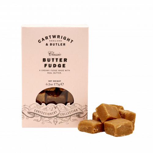 Butter Fudge in Carton