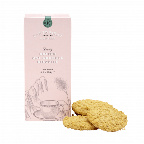 Butter Oat Crumble Biscuits in Carton