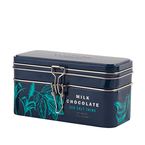 Sea Salted Milk Chocolate Thins