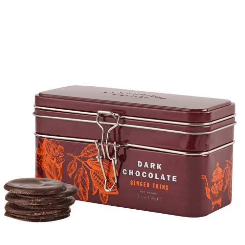Dark Chocolate Ginger Thins - product