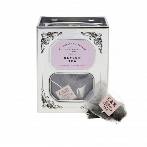 Ceylon Whole Leaf Tea Bags Caddy