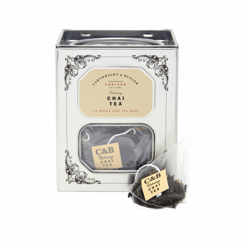 Chai Tea Tin - Whole Leaf Tea Bags