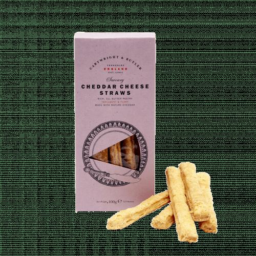 Cheddar Cheese Straws in Carton