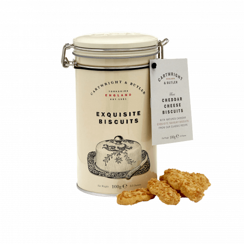 Cheddar Cheese Biscuits in Tin product