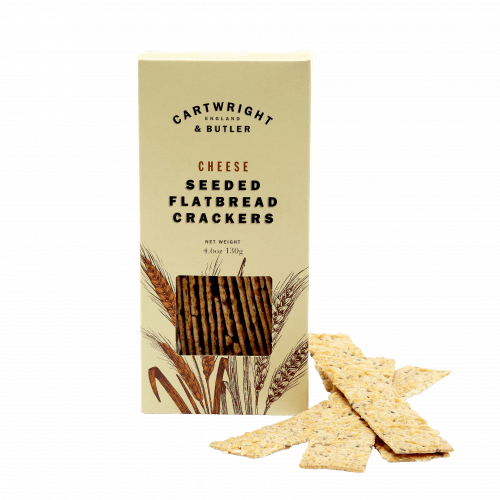 Cheese Seeded Flatbread Crackers in Carton - product