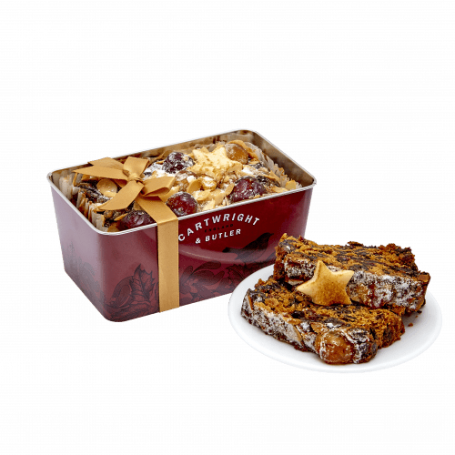 Christmas Loaf cake in Tin - product