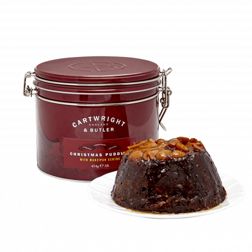 Christmas Pudding with Marzipan Centre - Product