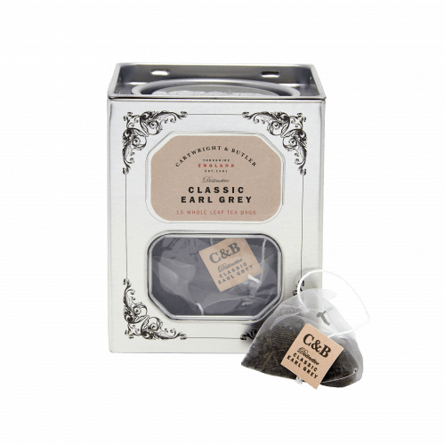 Earl Grey Whole Leaf Tea Bags Caddy
