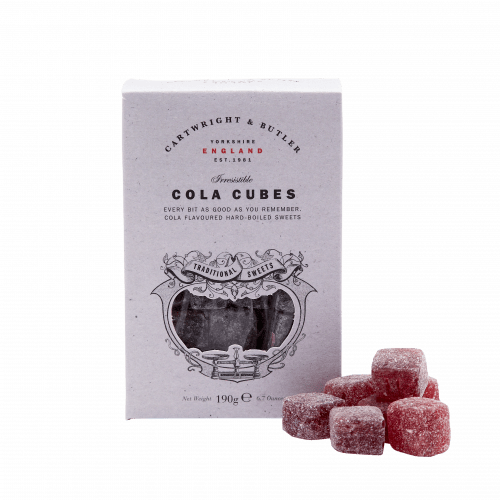 Cola Cubes Sweets Carton