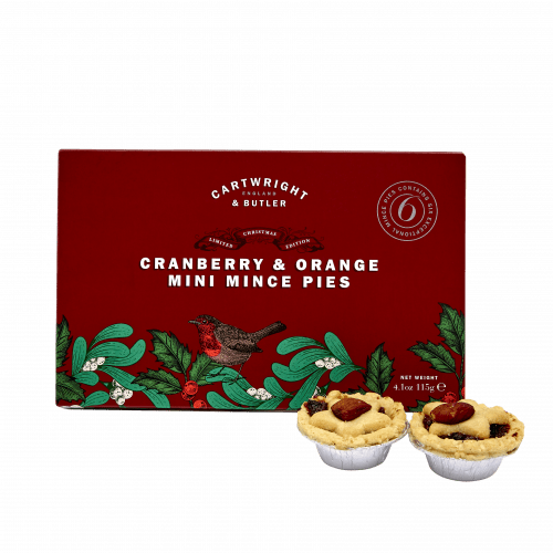 Cranberry & Orange Mince Pies in Carton - Product