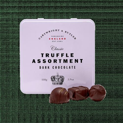 Dark Chocolate Truffle Assortment