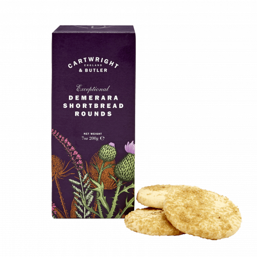 Demerara Shortbread Rounds in Carton
