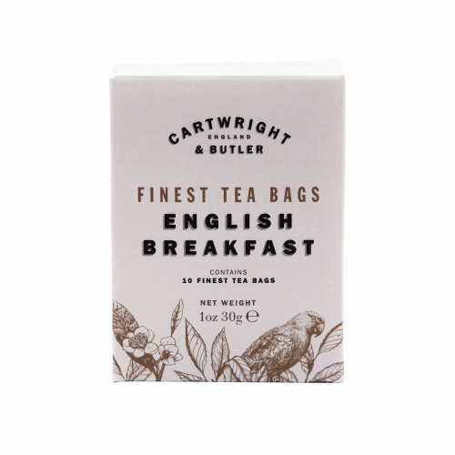 English Breakfast Tea Carton