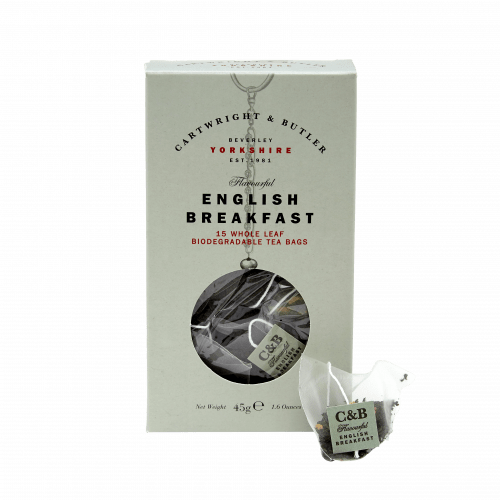 English Breakfast Whole Leaf Tea Bags Carton