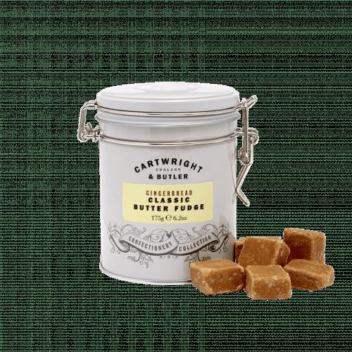 Gingerbread Fudge in Tin