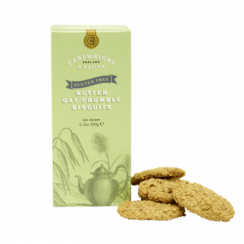 Gluten Free Butter Oat Crumble Biscuits