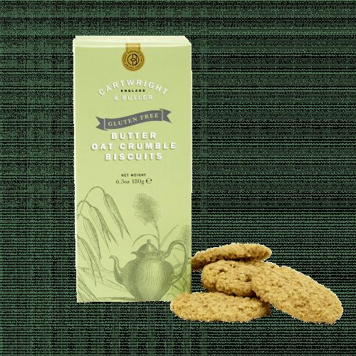 Gluten Free Butter Oat Crumbles in Carton