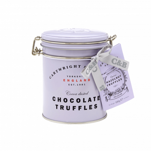 Hazelnut Chocolate Truffles tin