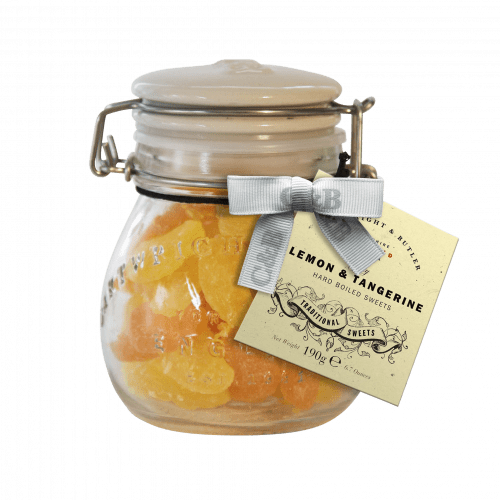 Lemon & Tangerine Sweets Jar