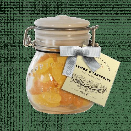 Lemon & Tangerine Sweets in Jar