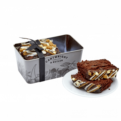 Luxury chocolate Loaf Cake in Tin - Product