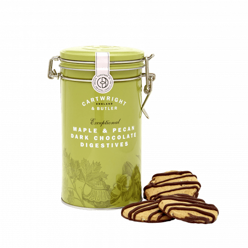 Maple & Pecan Dark Chocolate Digestives