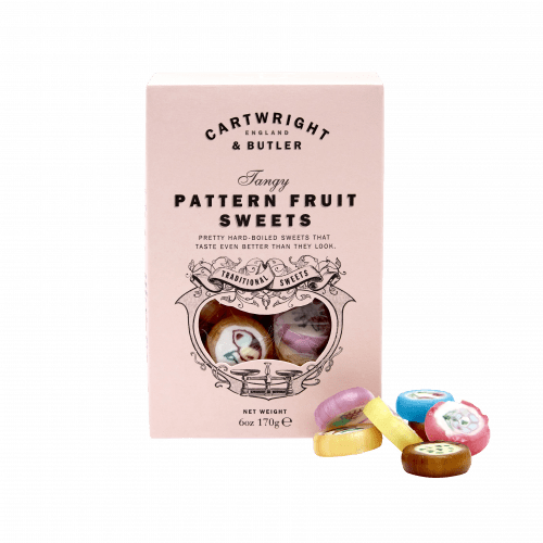 Pattern Fruit Candies Carton