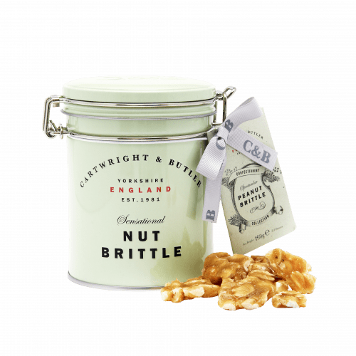 Peanut Brittle in Tin - Product