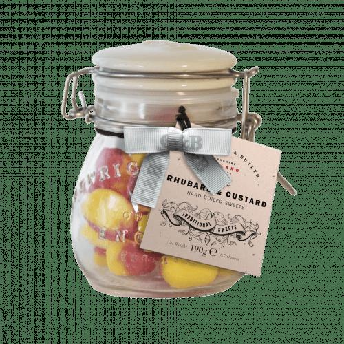 Rhubarb & Custard Jar