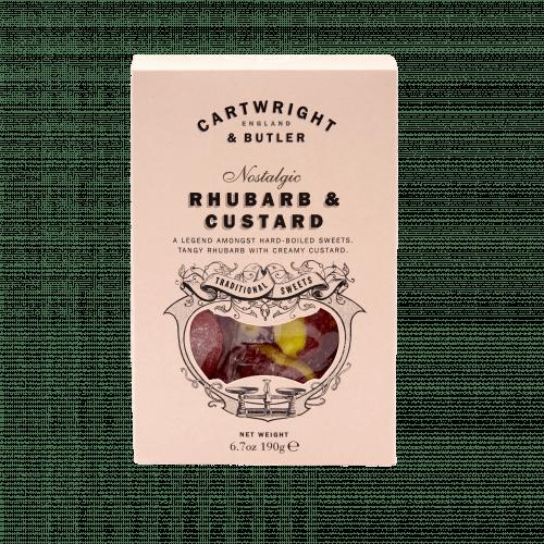 Rhubarb & Custard Carton
