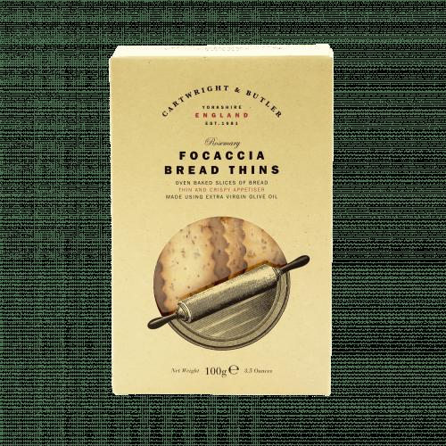 Rosemary & Focaccia Bread Thins