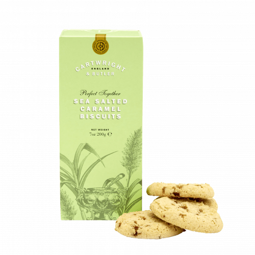 Salted Caramel Biscuits in Carton