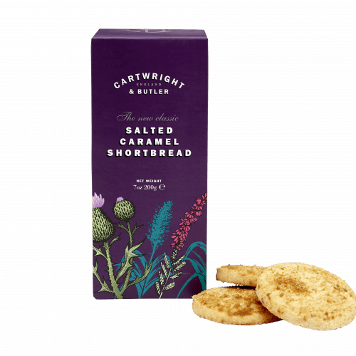 Salted Caramel Shortbread in Carton Product