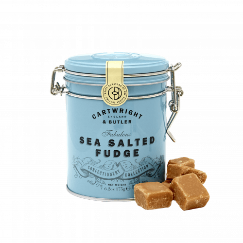 Salted Caramel Fudge in Tin