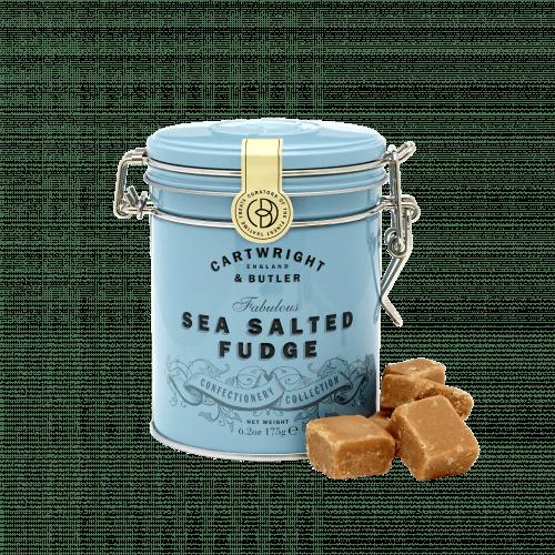 Salted Caramel Fudge in Tin