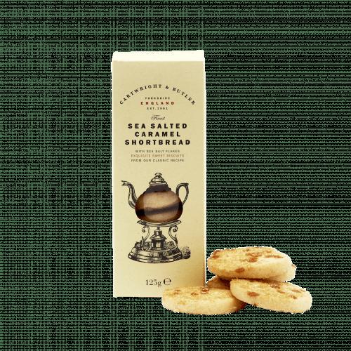 Sea Salted Caramel Shortbread Carton