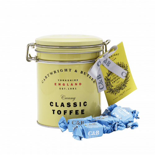 Sea Salted Toffees Tin - Product