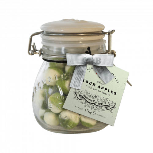 Sour Apple Sweets Jar