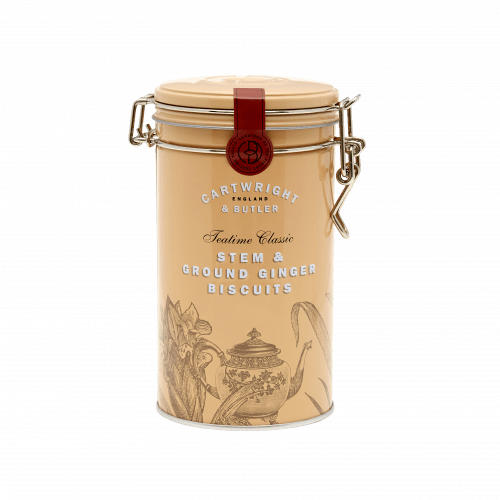Stem Ginger Biscuits Tin