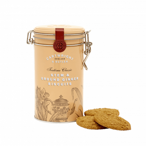Stem Ginger Biscuits Tin - Products
