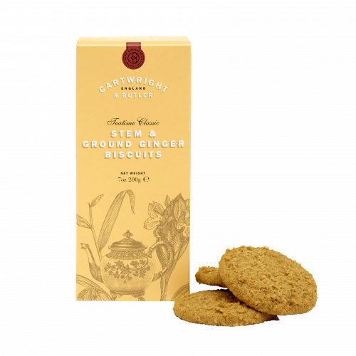 Stem Ginger Biscuits in Carton