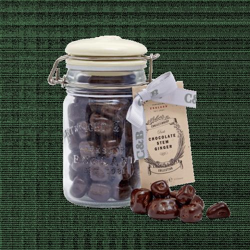 Stem Ginger in Dark Chocolate